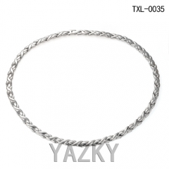 Titanium steel necklace for man