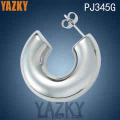 U shape new design hot selling stainless steel earring